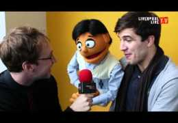 Geoffrey Bumfries talks to Princeton from Avenue Q