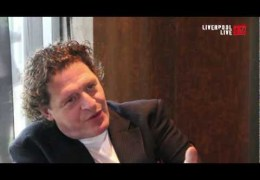 Marco Pierre White talks to LLTV about his new restaurant Frankies in Hoylake