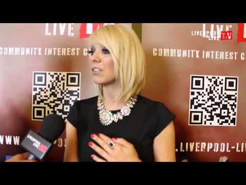 LLTV at The Liverpool Music Awards 2013: Ben talks to Liz McClarnon