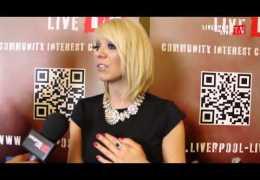LLTV at The Liverpool Music Awards 2013: Ben talks to Liz McClarnon