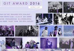 NEWS: Shortlist Revealed For 2016 GIT Award