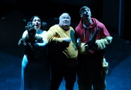 REVIEW: The Hitchhiker's Guide to Fazakerley, Royal Court, 28th Nov 2013