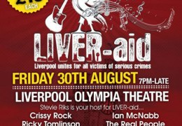 Liver-Aid  concert, Francesa Bimpson Foundation, Olympia Theatre, 30 Aug 2013