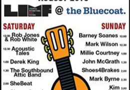 COMING UP: Liverpool Acoustic Garden, The Bluecoat, 24 & 25 Aug 2013