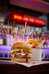 MOJO Achiote Burger