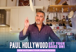 NEWS: Paul Hollywood announces Echo Arena date for 'Get Your Bake On!' tour
