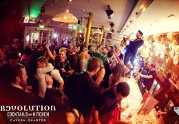 COMPETITION: Win a booth and drinks for four people at new Revolution club night