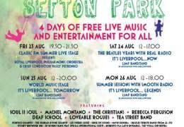 LIMF 2013: Sefton Park stage, 23-26 Aug