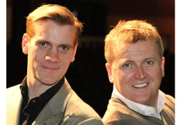 Aled Jones and Adam Cooper join forces once more for Empire's festive show