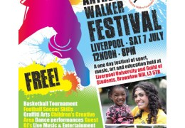 NEWS: X-Factor's Mischa B to perform at 7th Annual Anthony Walker festival, 7th July 2012