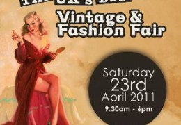 Vintage and Fashion Fair returns by popular demand to Metquarter