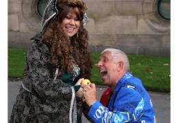 GALLERY: Cast of Royal Court Panto take to City streets