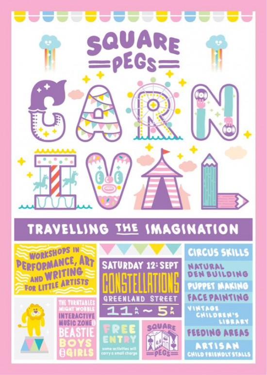 Square Pegs Carnival
