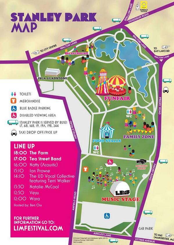 stanley park 2013 map