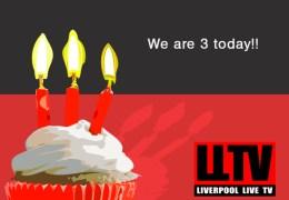 Happy 3rd Birthday Liverpool Live TV!
