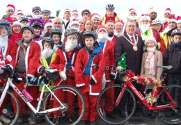 NEWS: Cycling Santas to raise support for Alder Hey