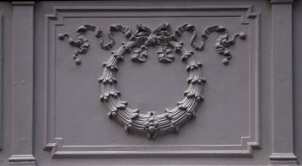 Cast iron panels made by Macfarlanes of Glasgow