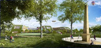 Artists impression of the new Alder Hey