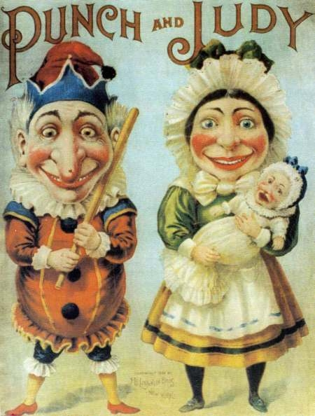 Old fashioned Punch and Judy