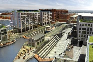 Artists Impression of Liverpool Waters