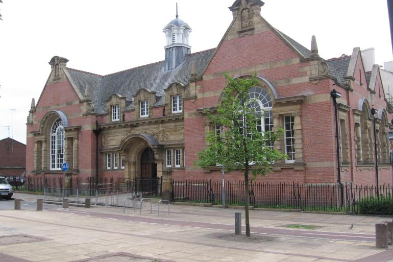 Exterior of Toxteth Library