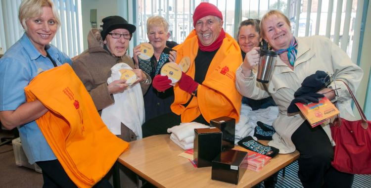 Winter survival launch at Breck Road Library