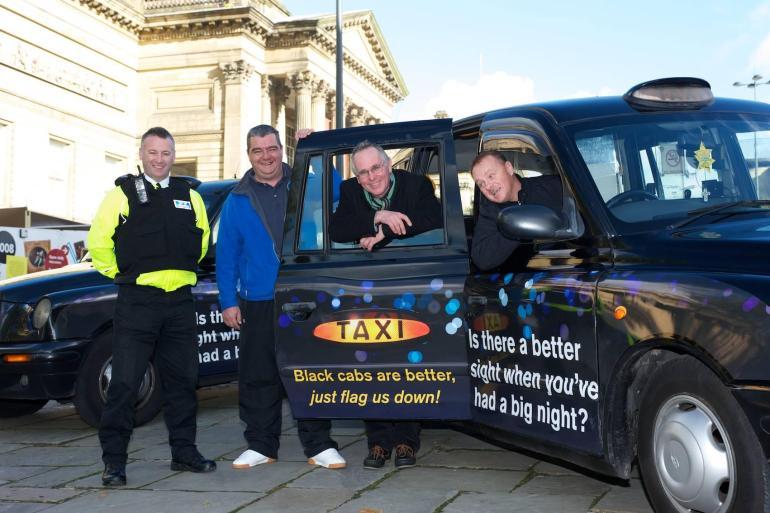 Taxi cab campaign