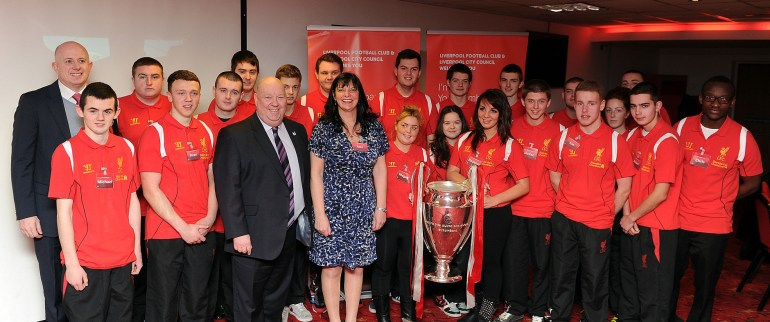 second phase of youth ambassadors launch at Anfield