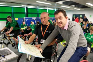 Chris Boardman at Alsop
