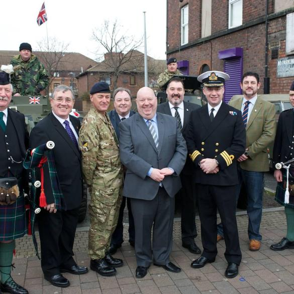 Official opening of Veterans one-stop shop