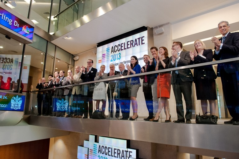 Accelerate Stock Exchange Launch