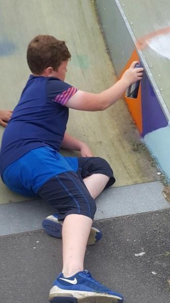 Skateboard Park grafitti.5jpg