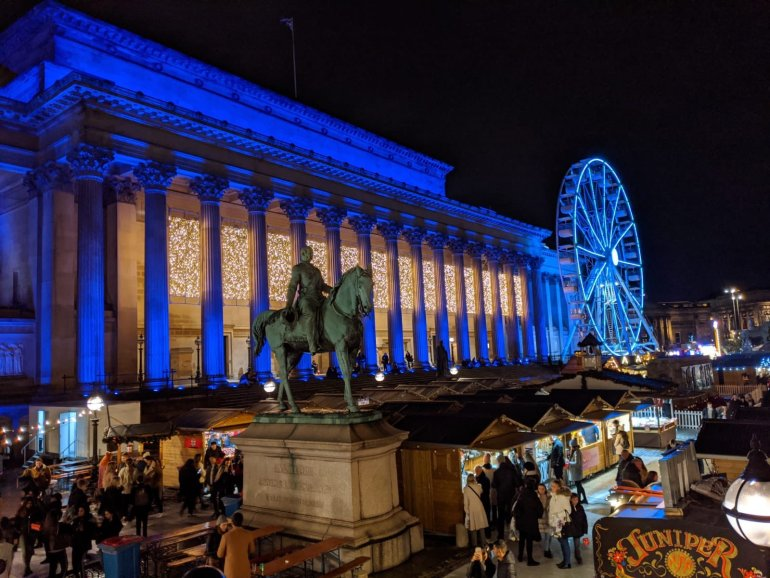 Christmas in Liverpool