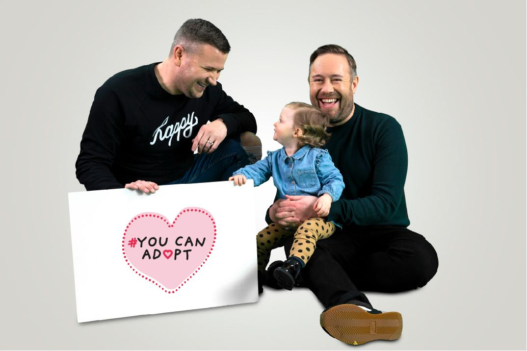 Liverpool family star in new national #YouCanAdopt campaign | Liverpool Express