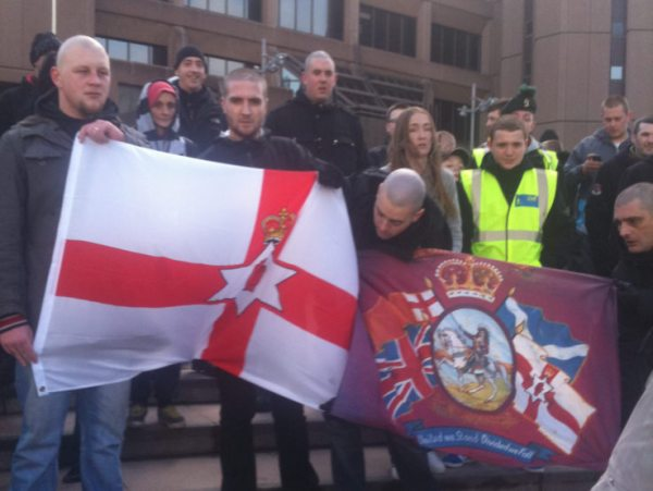 Orange/loyalist community ally themselves with Far Right ...