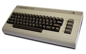 A photo of a Commodore 64 computer