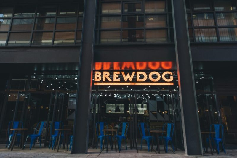 Liverpool Outdoor dining Brewdog