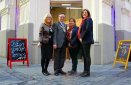 Liverpool's Lord Mayor Pays Special Visit To The Interesting Eating Company Ahead of Small Business Saturday