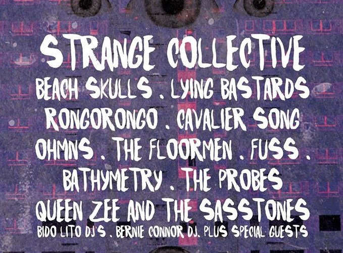 Strange Collective Announce 'Super Touchy' EP Launch Party All-Dayer 2nd July At The Invisible Wind Factory