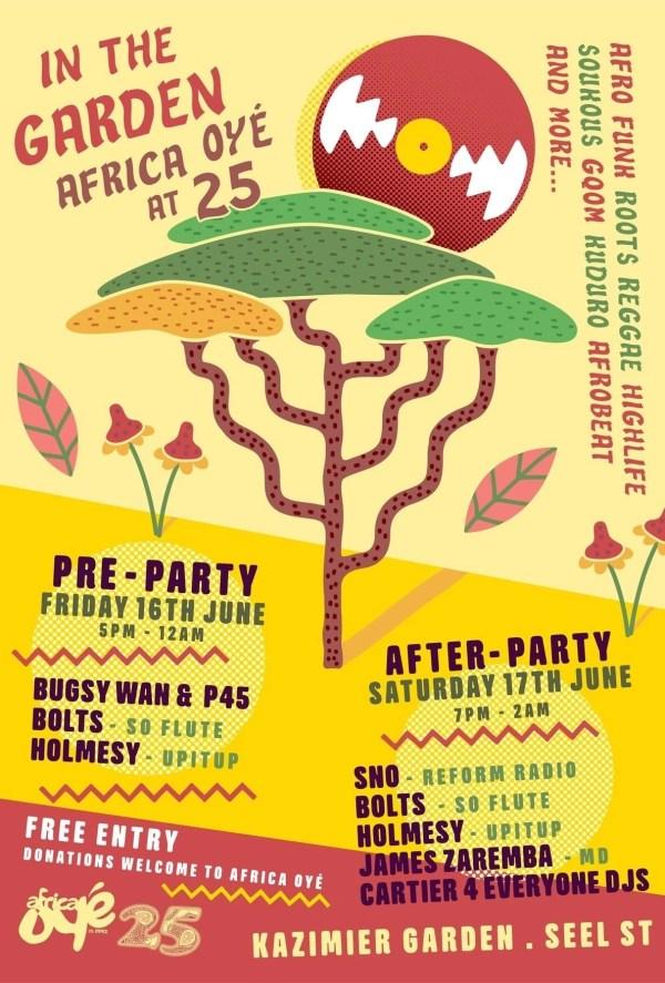 Africa Oye Kazimier Party