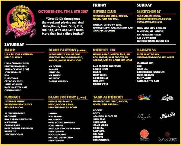 Liverpool Disco Festival 2017
