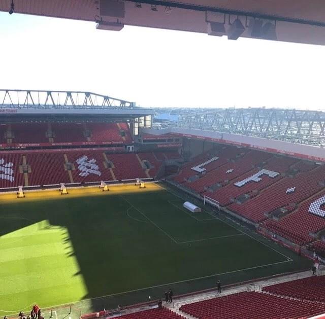 Liverpool FC Stadium Tour   Liverpool Noise