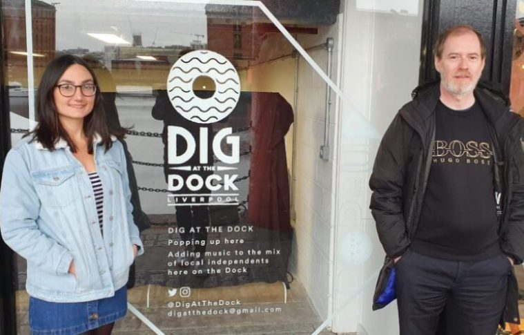 Liverpool Record Shop To Launch Pop-Up 'Dig At The Dock' At The Royal Albert Dock