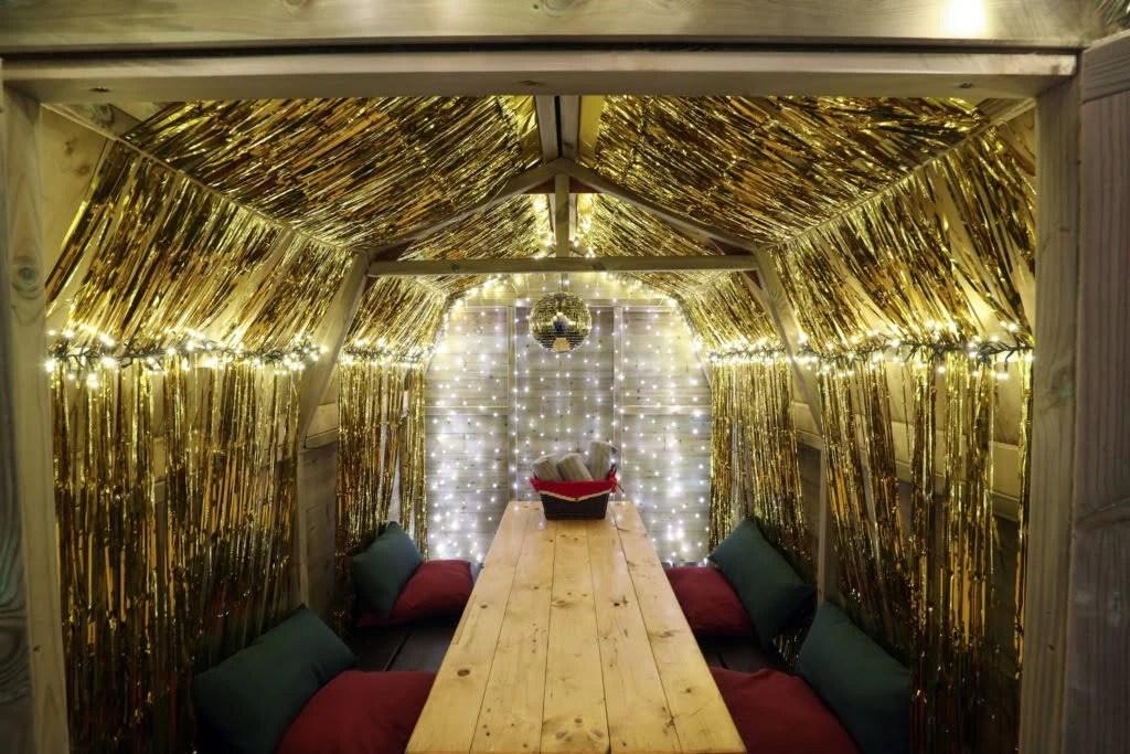 The Club House Christmas Lodges