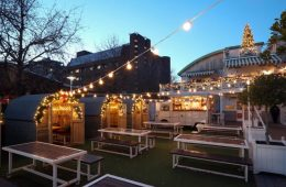 The Club House Creates Its Very Own Winter Wonderland With 'Moose' Winter Lodges 1