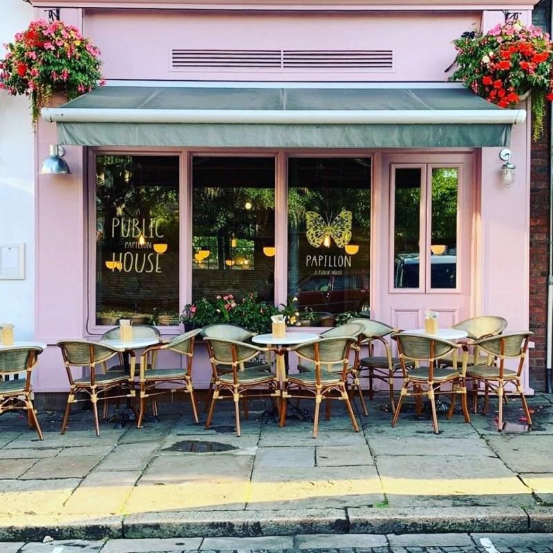 Hope Street Restaurants and Bars Papillon Pub Liverpool