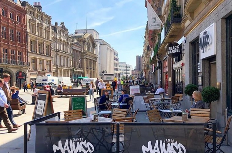 Liverpool's Continental Style Outdoor Spaces Plans