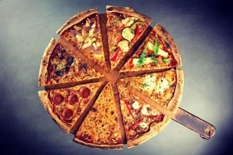 American Pizza Slice