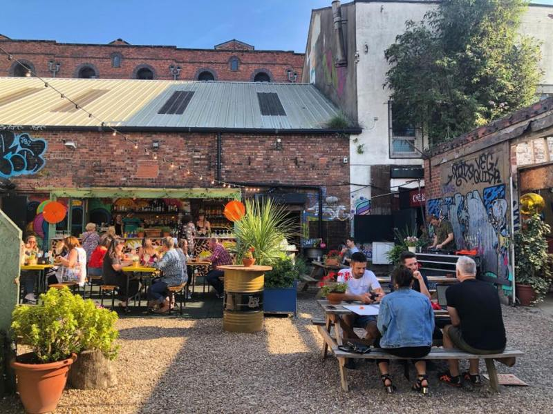 Baltic Triangle Bars and Restaurants Botanical Garden