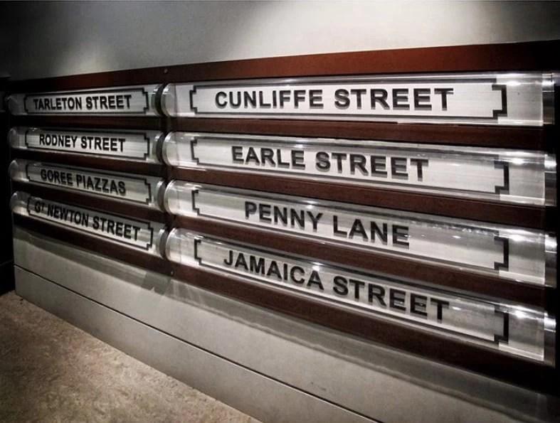Black Lives Matter Street Signs Liverpool